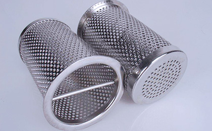 Punched hole wire mesh