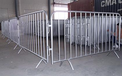 Temporary fence